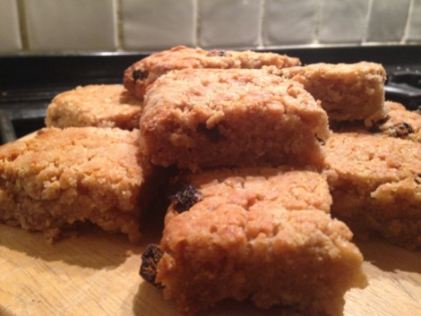 Gluten free, dairy free, egg free apple slice - A Free From Life