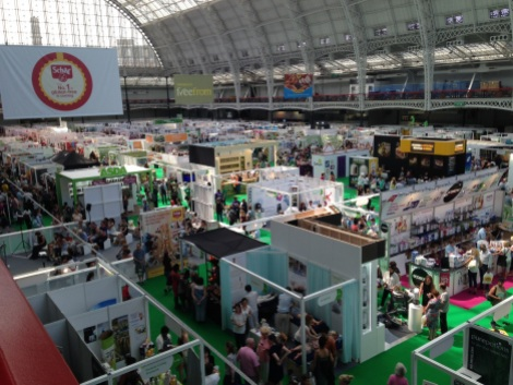 Allergy and Free From show 2015 - Nikki Young Writes