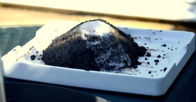 Baking soda volcano - Nikki Young Writes